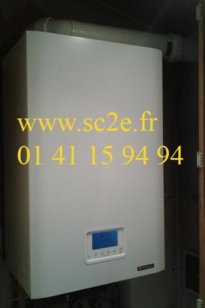 Installation  chaudières à condensation – CITE - 92