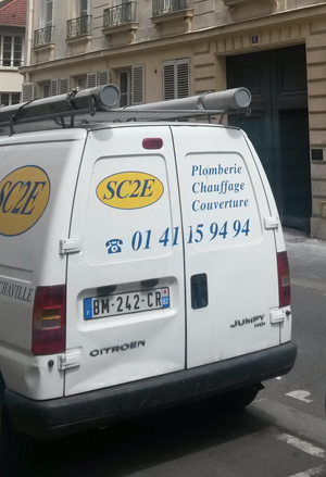 Installation radiateurs à inertie - Chaville Hauts-de-Seine (92)