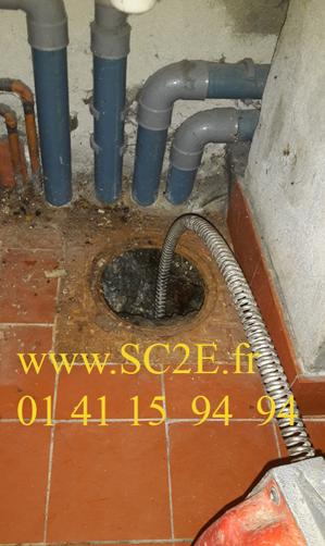 Débouchage et entretien de canalisations