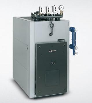 Chaudières à condensation pour assurer le chauffage d'un immeuble.