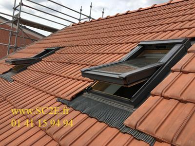 Couverture de toiture traditionnelle et restauration