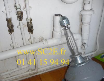 Dégorgement et débouchage de canalisations - 92