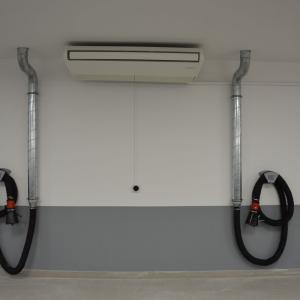 Système de climatisation réversible pour un atelier