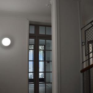 Réfection de l'entrée d'un immeuble parisien