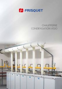 Chaufferie modulaire Visio Frisquet - Installation SC2E