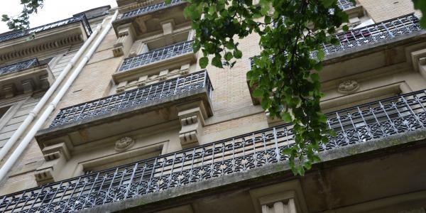 Réhabilitation des balcons en plomb d'un immeuble