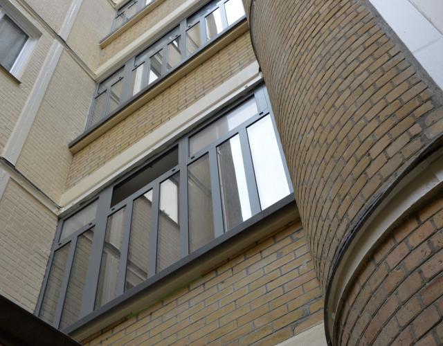 Réhabilitation d'un bâtiment à usage d'habitation